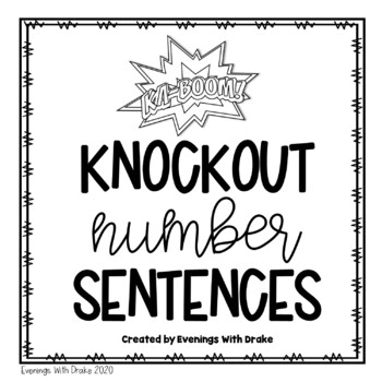 Building and Writing Number Sentences Using Multi-Digits f