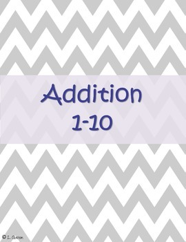 Addition and Subtraction Numbers 1-10 and Doubles (Winter)