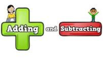 Addition and Subtraction Practice using Dice and Number Bo