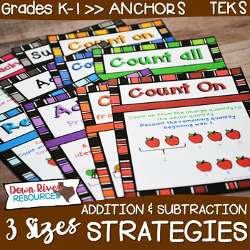Addition and Subtraction Problem Solving Strategy Anchor C