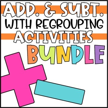 Addition and Subtraction Activity Pack BUNDLE!