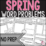 Addition and Subtraction Spring Word Problems