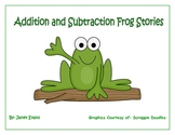 Addition and Subtraction Story Problems Center