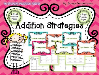 Addition and Subtraction Strategies Mega BUNDLE