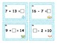 Addition and Subtraction Task Cards up to 20 with Unknown