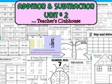 Addition and Subtraction Unit #2 from Teacher's Clubhouse