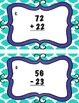 Addition and Subtraction Without Regrouping Task Cards/Sca