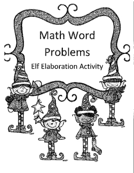 Christmas Addition and Subtraction with Regrouping Word Pr