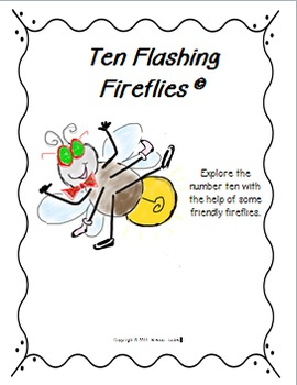 """Addition and Subtraction with """"Ten Flashing Fireflies"""""""