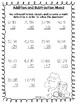 Addition and subtraction with 2 digit numbers