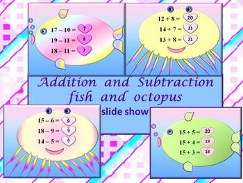 Ocean Theme - Addition and subtraction - PowerPoint Presentation