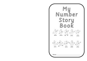 Addition fact book template