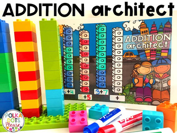 Addition Architect-- Making 10 Math Center