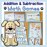 Addition to 10, Subtraction to 10 Math Games, Equation Boa