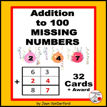 Addition to 100 | Missing Numbers | Core Math| SCOOT Game