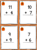 Addition up to 20 SCOOT Game - Grades K, 1, and 2 Common C