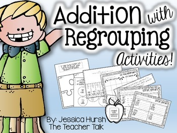 Addition with Regrouping Activities