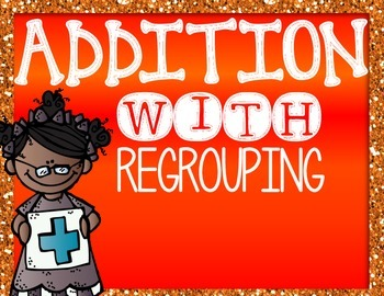 Addition with Regrouping mini introduction power point 2