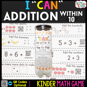 Kindergarten Math Game for Addition within 10 - Kindergart
