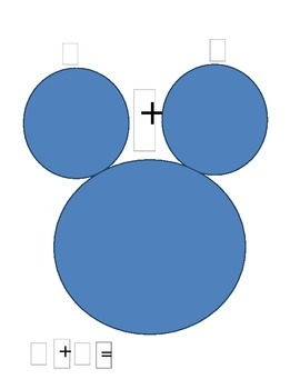 Addition:Mickey Mouse Math