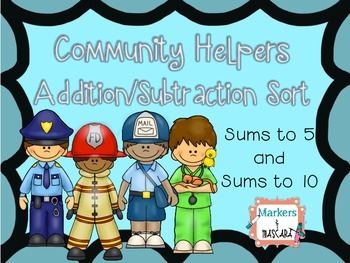 Addition/Subtraction Sort Community Helpers