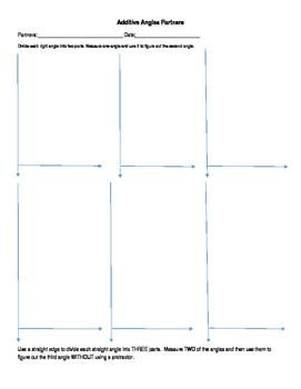 Additive Angle Activity 4.MD.7