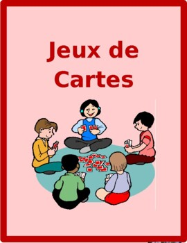 Adjectifs (French adjectives) games:  Concentration, Slap,