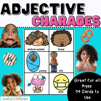 Parts of Speech Adjective Antics A Fun Game to Reinforce A