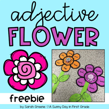 Adjective Flower {freebie!}