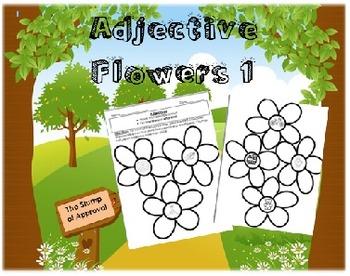 Adjective Flowers 1