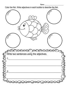 Adjective Practice-