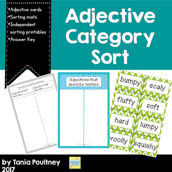 Adjective Category Sort