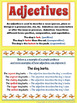 Adjectives Unit - Anchor Charts, Activities, Centers, Worksheets
