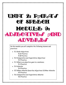 Adjective and Adverb Practice