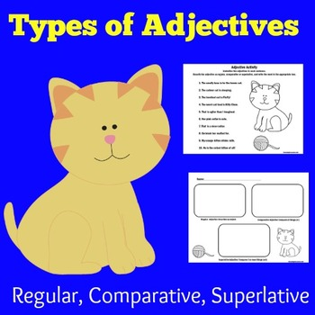 Adjectives Activity   Adjectives Lesson   Adjectives First Grade