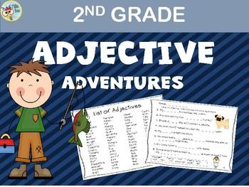 Adjective Activities, Adjective Word Work, Descriptive Writing