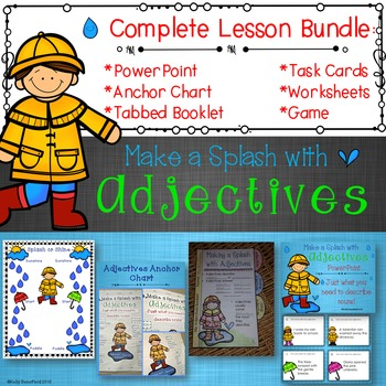 Adjectives PowerPoint Bundle