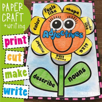 Adjectives Craft Activity
