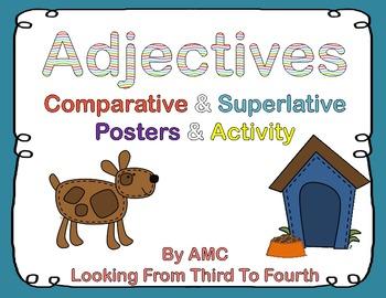 Adjectives - Comparative and Superlative