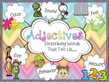 Adjectives {Describing Word Activity}
