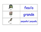 Adjectives in Spanish Flash Cards