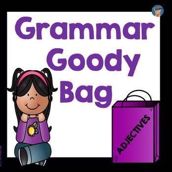 Adjectives Grammar Goody Bag