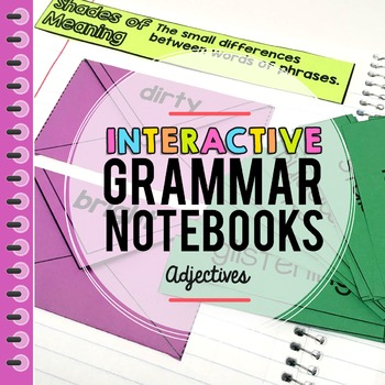 Adjectives Interactive Notebook