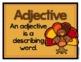 ELA - Adjectives Literacy Center - FREEBIE