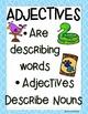 Adjectives- Mini Books Pet Shop Theme Common Core