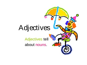 Adjectives PowerPoint 1