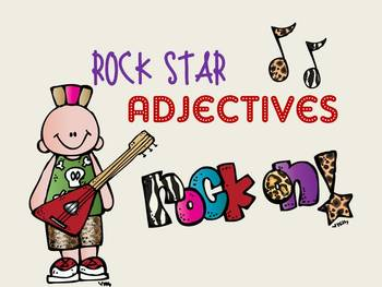 Adjectives PowerPoint to introduce and reinforce adjectives