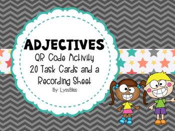 Adjectives QR Code Activity