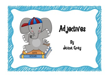 Adjectives - Read and Write the Room