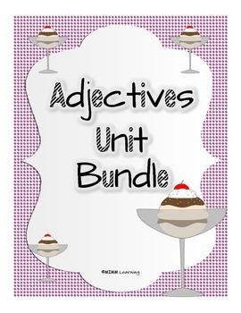 Adjectives (Describing Words) Unit BUNDLE